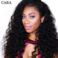 Loose Wave 13x6 Lace Front Wig Full 250 Density Lace Front Human Hair Wigs For Women Pre Plucked Brazilian Virgin Hair Wigs CARA
