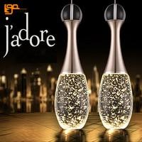 brief style lustres de cristal LED lamp modern pendant chandelier for dinning room bar light