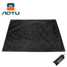 AOTU Gear Ultralight Tarp Lightweight MINI Sun Shelter Awning Camping Mat Tent Footprint 210T Oxford 210*150cm 339