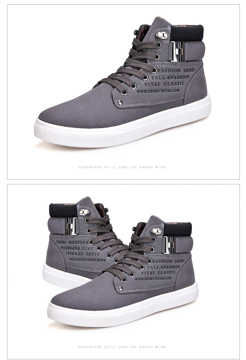 HTB10JkhupkoBKNjSZFEq6zrEVXaD DEKABR Hot Men Shoes Fashion Warm Fur Winter Men Boots Autumn Leather Footwear For Man New High Top Canvas Casual Shoes Men