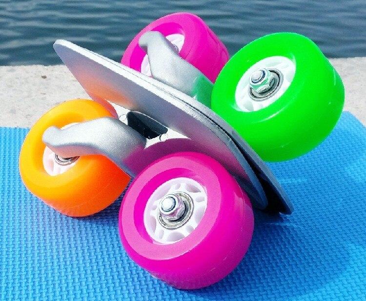 2019 Portable color Drift Board For Freeline Roller Road Driftboard Skates Anti skid Skate board Skateboard