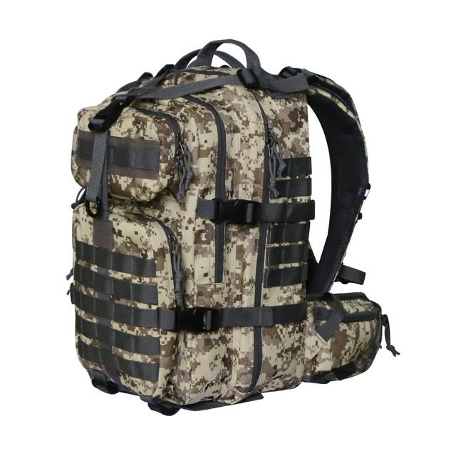 Vihir 40l Waterproof Military Tactical Backpack Assault Pack Molle Bug Out Bag For Outdoor Travel Hiking