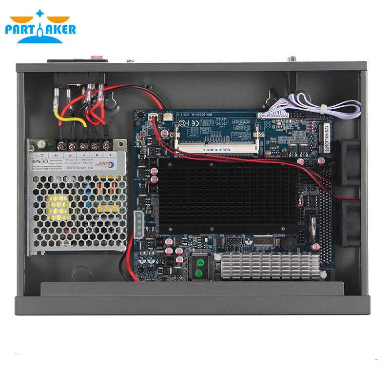 Partaker R13 4*RJ45 1000M LAN Rack Firewall Router Network Server with Intel N2600/N2800 Fanless Support PFSense 4G RAM 64G SSD