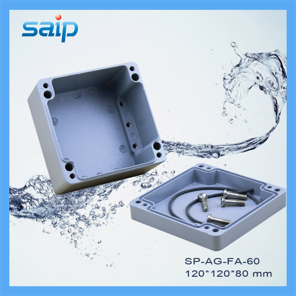 IP67 120*120*82mm Waterdichte Behuizing Aluminium Doos (SP AG FA 60)