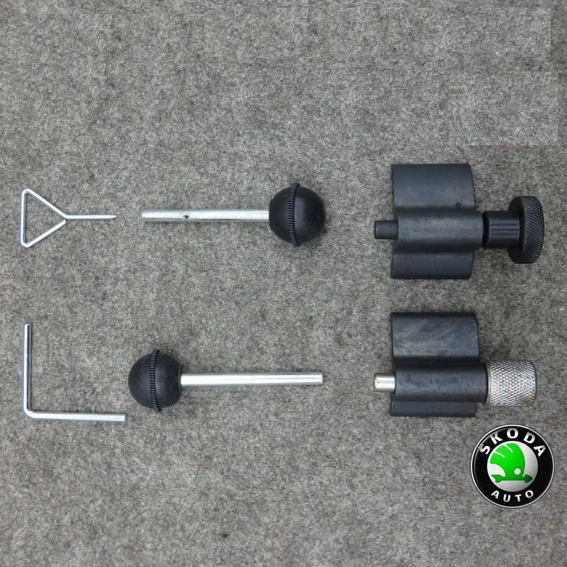 Image 2 - Volkswagen Audi virabrequim do motor fixação ferramenta de  substituição da correia dentada do grupo 1.2, 1.4, 1.9, 2.0TDIPeças de  ferramentas
