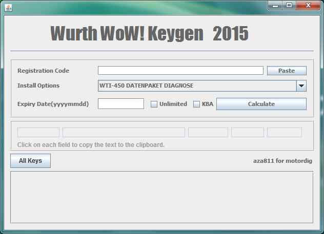 wurth wow 5.00 8 activation with keygen