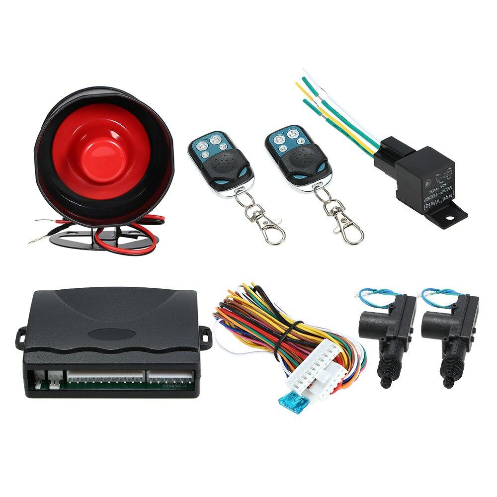KKmoon Inmovilizador Coche Sistema de Alarma Protector con 2 Control de Remoto Dispositivo Antirrobo