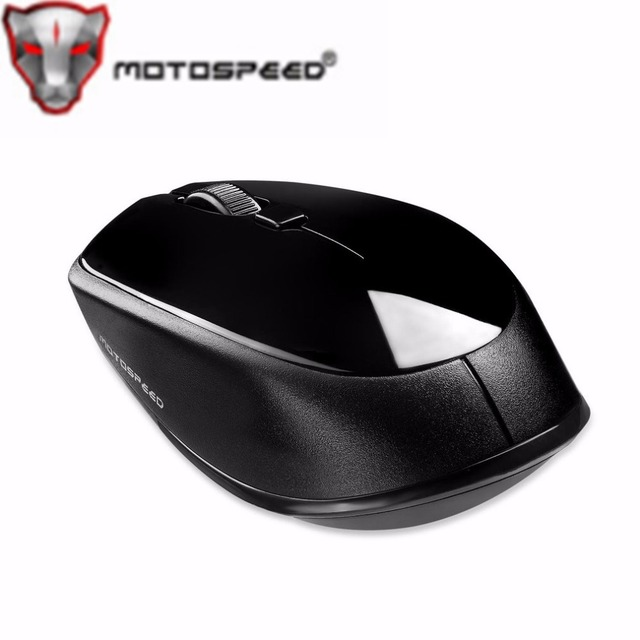 1e6ccbc0046 MOTOSPEED Wireless Bluetooth 3.0 Optical Mouse Red Light 2400DPI for  Computer Laptop For Windows Android 10M Working Distance