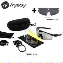Тактические очки SI M 3,0, баллистическая армейская оправа для близорукости, военные поляризационные очки gafas, страйкбол, боевая игра, стрельба, пейнтбол, очки