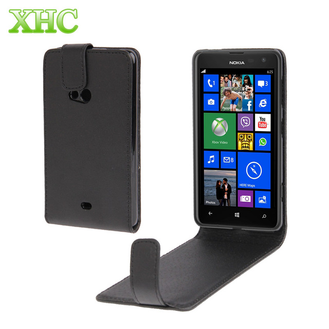 best cheap 74d1a 2c200 US $3.49 |Vertical Flip Leather Case for Nokia Lumia 625 Up and down flip  case mobile phone back cover for nokia lumia 625-in Flip Cases from ...