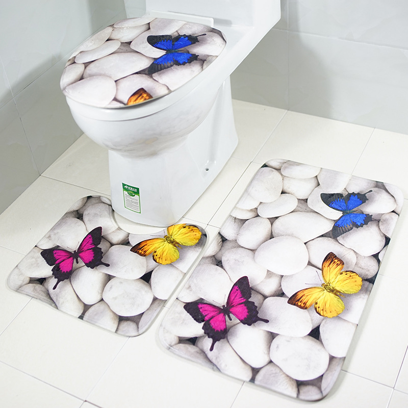 Bathroom Lip Tank Set Toilet Seat Cover WC Seat Covers ...