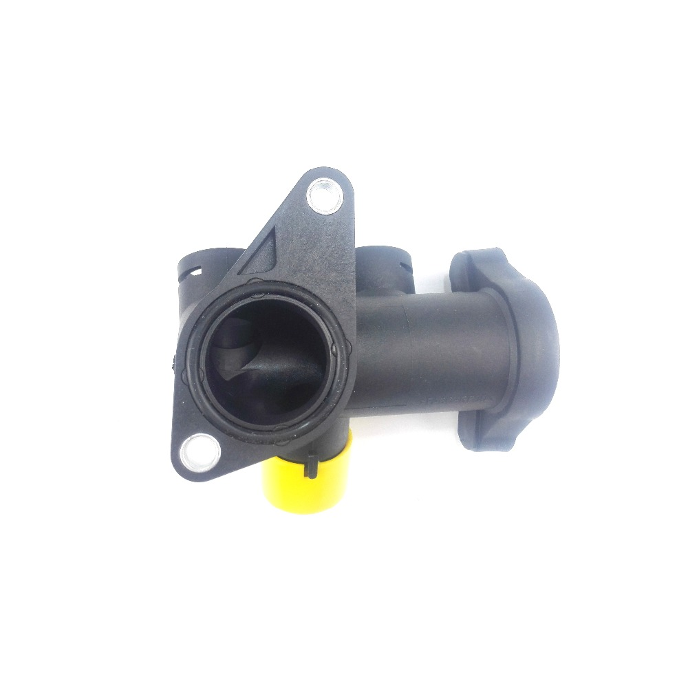 For VW Audi Coolant Hose Outlet Flange Connector 1.8L Turbo 058 121 132A