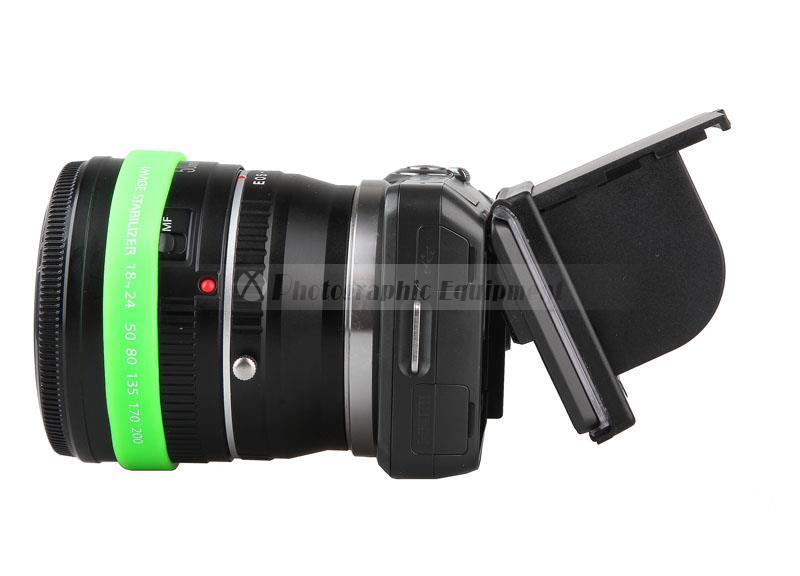 Camera LCD Monitor Screen Protect Transparent Sunshade Hood Cover for Sony NEX3 NEX5 NEX-5C