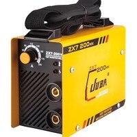 МиГ сварочный аппарат инвертор сварки электродами сварки Инвертор постоянного тока IGBT сварочное оборудование ММА сварщиков ZX7 200 (ARC200) свар