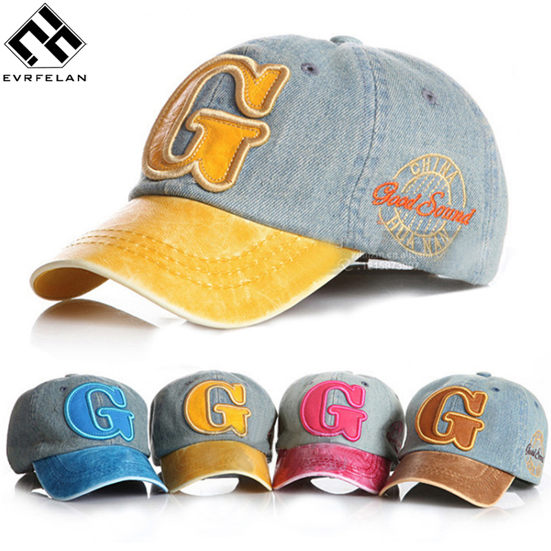 Lovely!! New Fashion Cowboy Boy Baseball Cap For Children Snapback Cap For Boys Girls Embroidery Cap Letters Pattern Kid Hat