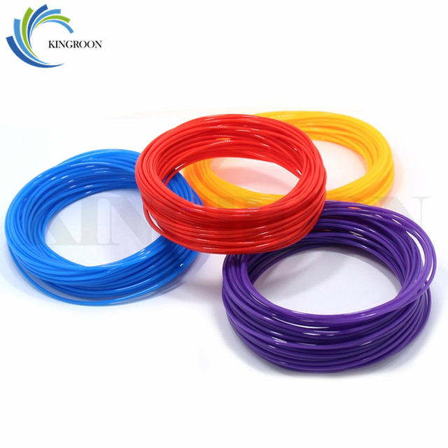 10 Meter PLA 1.75mm Filament Printing Materials Plastic For 3D Printer Extruder Pen Accessories Black White Red Colorful Rainbow 1