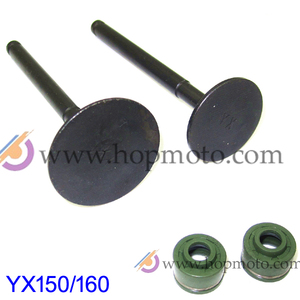 YinXiang 150CC YX160 Valve Oil Seals and Valve set Cylinder Head Valve Kit Engine spare parts(China)