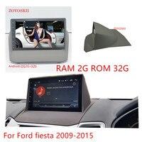 ZOYOSKII Android 6,0 Автомобильный gps Мультимедиа Радио bluetooth навигации плеер для Ford Fiesta 2008 2015 ips экран 2G оперативная память 32G Встроенная память