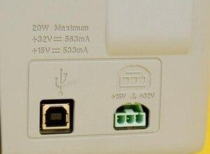 Image 4 - 0957 2119 32V563MA 15V533MA AC DC Power Adapter für HP deskjet f380 1368 Drucker Netzteil