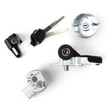 Areyourshop motosiklet kontak anahtarı kilidi 35014 GEZ Y21 Honda NPS50 Ruckus 2003 2005 yeni Motor kilidi aksesuarları