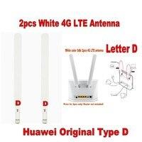 Genuines Huawei b525 b593 b315 B310 Телевизионные антенны Пара 2x внешний Телевизионные антенны оригинальный Тип D (маршрутизатор не прилагаются)