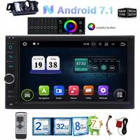 2 Din 7 Inch Android 7 1 Car Gps Radio DVD Player GPS Navigation 2 Din