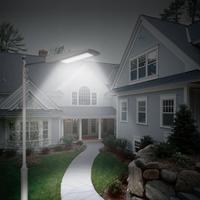 10W Solar LED Sensor Street Light Super Bright Wall Lamp Waterproof Outdoor Courtyard Street Garden Light Decoration