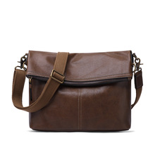 new men genuine leather military laptop computer cross body shoulder messenger tote handbag bag Genuine Leather Messenger Bag Men Luxury Handbag Men's Shoulder Cross Body Mini Bag Large Business Briefcase Travel Casual Tote