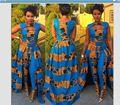 2017 Mulheres Roupas Vestidos Africanos Para As Mulheres Venda Quente Roupas Africano Tradicional de Poliéster Novo Estilo de Roupas Da Moda