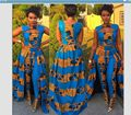 2017 Women African Clothing African Dresses For Women Hot Sale Clothing Traditional Polyester New Fashion Style Clothes