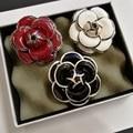 Женская винтажная брошка с цветами Camellia  модная бутоньерка  Bijuteria Feminina  украшения  Брош  Флер  хиджаб