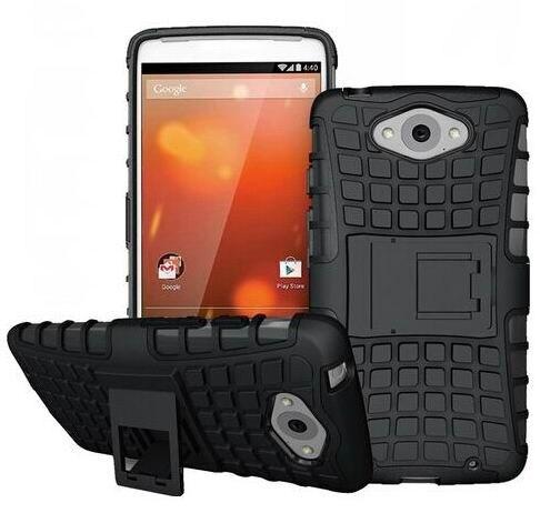 For Motorola Moto Maxx XT1225 Case Armor Heavy Duty Hybrid Rugged TPU Stand Impact Hard Cover