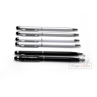 500 pcs a lot 0.7mm touch pen Full Syringe Pen refill  Ballpoint Pen customized logo printed free By DHL