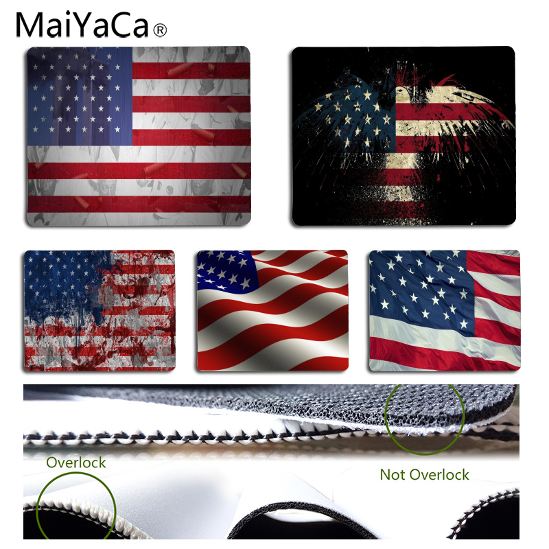 MaiYaCa Your Own Mats Flag Customized laptop Gaming mouse pad Size for 18x22cm 25x29cm Rubber Rectangle Mousemats