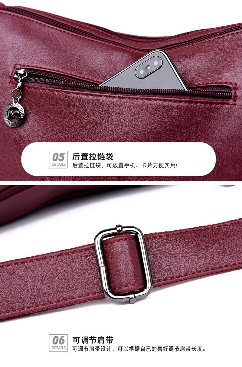 mensageiro diário portátil das senhoras bolsa