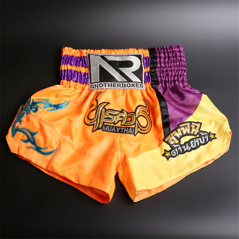DUOGEAR LITE BLUE MUAY THAI BOXING FIGHTER TRUNKS