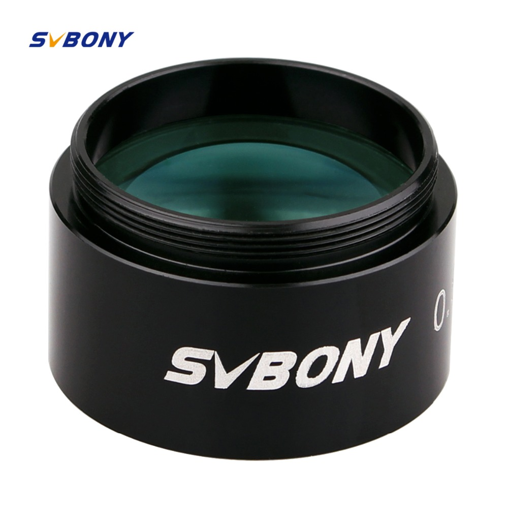 1.25 Focal Reducer x 0.5 for Astronomy Telescope Monocular Binoculars Eyepiece Photography & Observing Focal Reducer F9154
