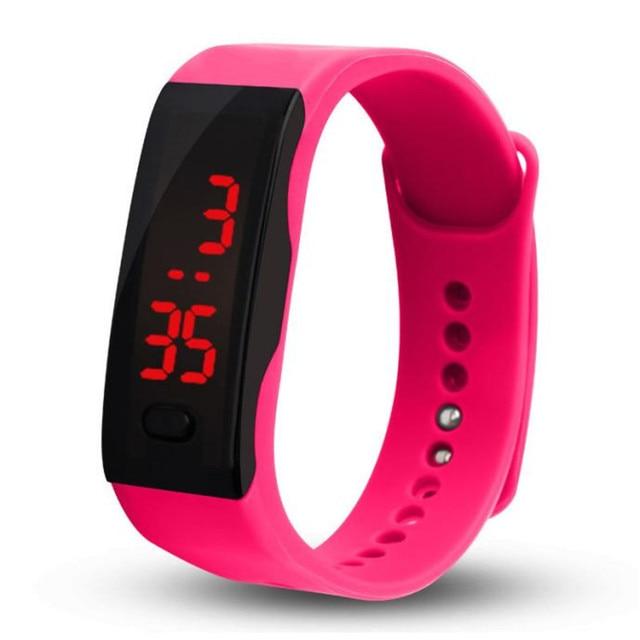 Aimecor Ladies Watch Men Sports LED Date Digital Watch Fashion Rubber Strap Women Watches Bracelet Watch Ladies Dropshiping