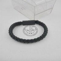 Micro USB di trasporto libero handmade tessuto braccialetto di cuoio stile punk cuoio micro usb di Sincronizzazione di Dati di carico del Cavo del braccialetto