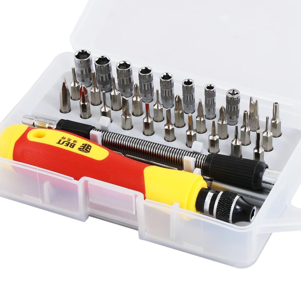 33 in 1 Set di cacciaviti intercambiabili Kit di cacciaviti magnetici - Utensili manuali - Fotografia 5