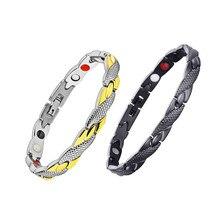 Магнитный браслет для похудения, модные ювелирные изделия для мужчин и женщин, цепочка для потери веса, браслет для похудения, продукт для похудения