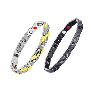 Utrata masy ciała magnetyczna bransoletka odchudzająca modna biżuteria dla mężczyzny kobieta Link Chain bransoletka odchudzająca zdrowie produkt wyszczuplający tanie i dobre opinie Sumifun Pierścień magnetyczny toe 295549 Normal Utrata masy ciała kremy
