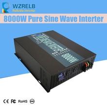 Reliable Power Bank Inverter Pump/Car Converter 24V 230V 8000W Off Grid Pure Sine Wave Solar Inverter 12V/24V/48V 48v 6000w off grid pure sine wave power inverter 48v to 230v off grid power converter