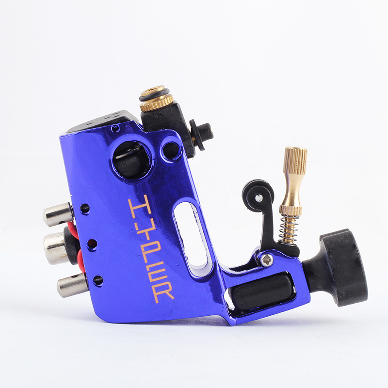 YILONG Tattoo Machine High Quality Stigma Hyper V3 Tattoo Machine Blue Color Rotary Gun For Shader And Liner Free Shipping xiaguocai new arrival real leather casual shoes men boots with fur warm men winter shoes fashion lace up flats ankle boots h599