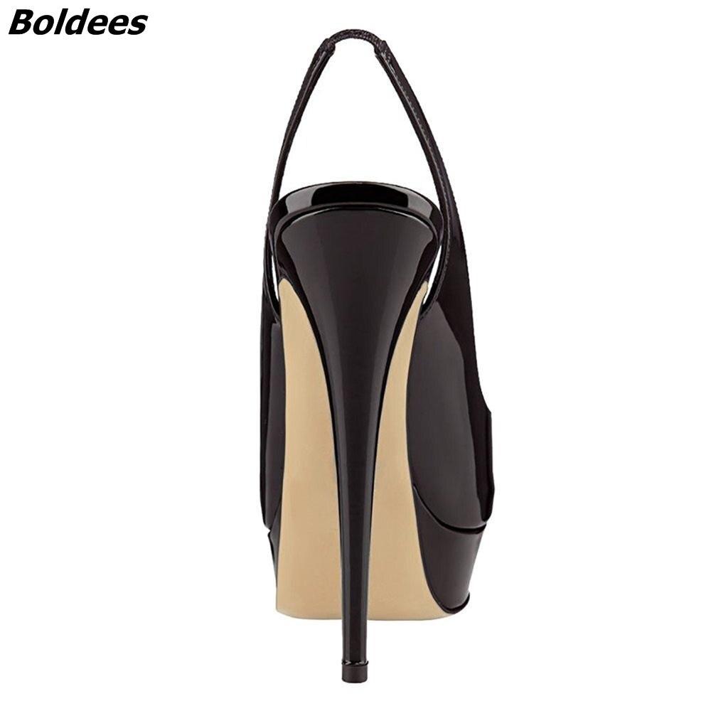 Slingback Thin High Heels (2)
