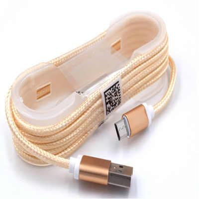 Micro usb kabel do Samsung galaxy HTC Huawei Android 1.5 m szybki przewód ładowania Microusb Nylon kabel USB do ładowania