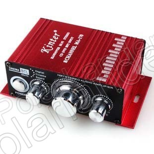 Hi-Fi Stereo Amplificador 12 V amplificador de