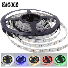 High Brightness DC12V LED Strip 5050SMD 60leds/m 5m/lot Flexible LED Strip Light for Holiday Lighting Decoration