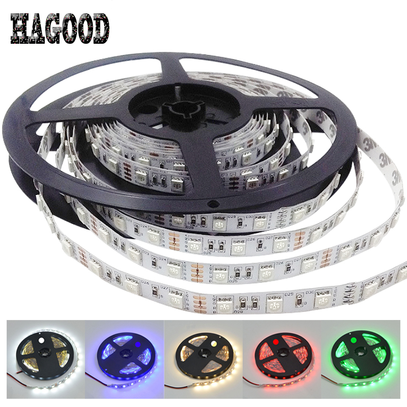 Tira de diodo de alto brillo DC12V LED Strip 5050SMD 60leds / m 5m / - Iluminación LED