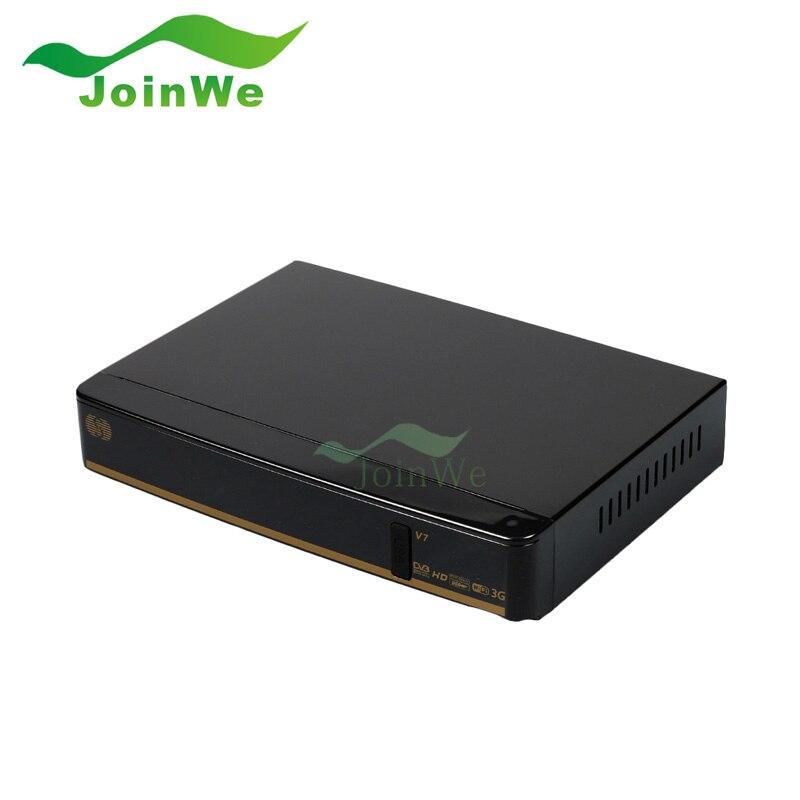 все цены на Original S V7 Digital Satellite Receiver S V7 S-V7 AV Output VFD Support 2*USB WEB TV USB WIFI 3G Biss Key Youporn  CCCAMD онлайн